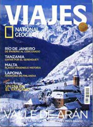 Revista Viajes National Geographic, tapa